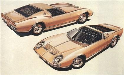 1968 Lamborghini Miura Roadster (Bertone)